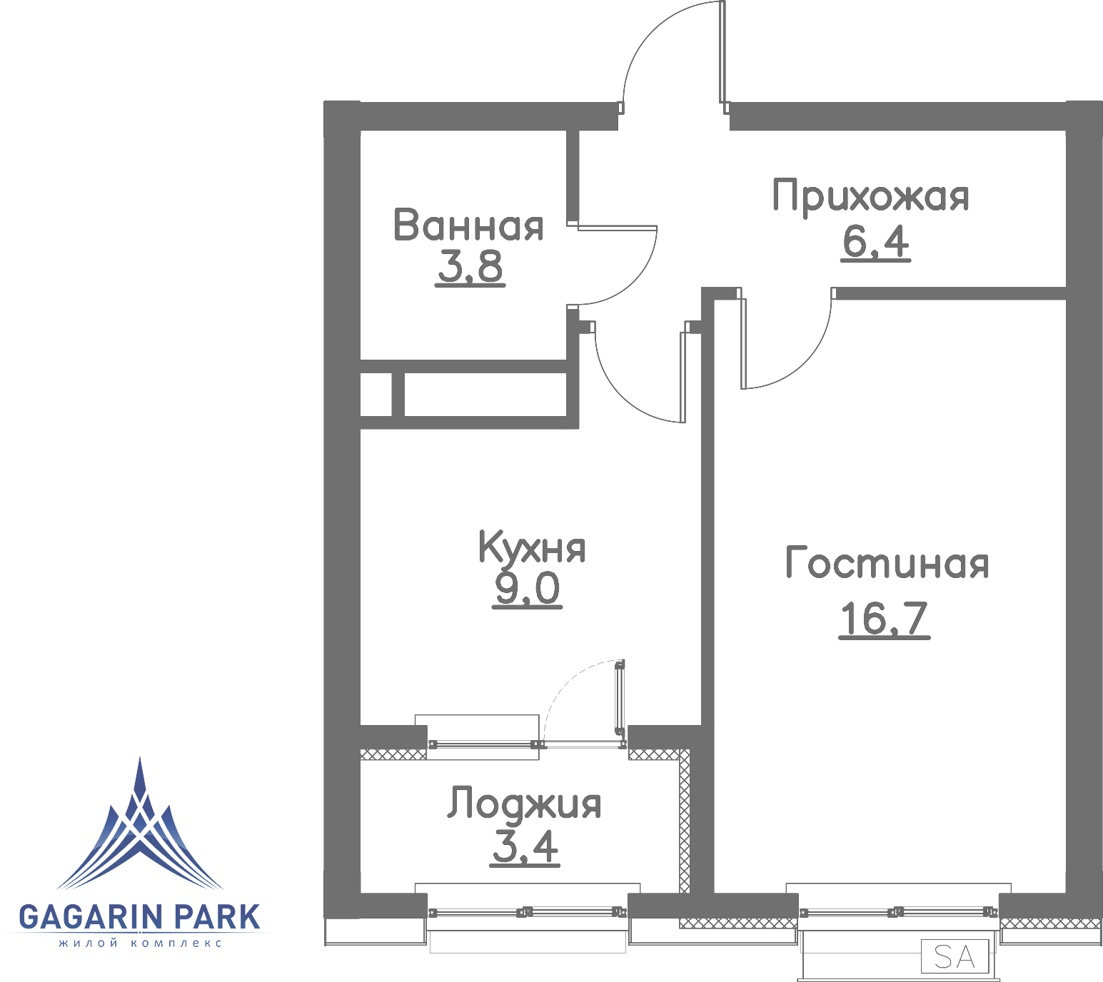 1 очередь, Квартира 172