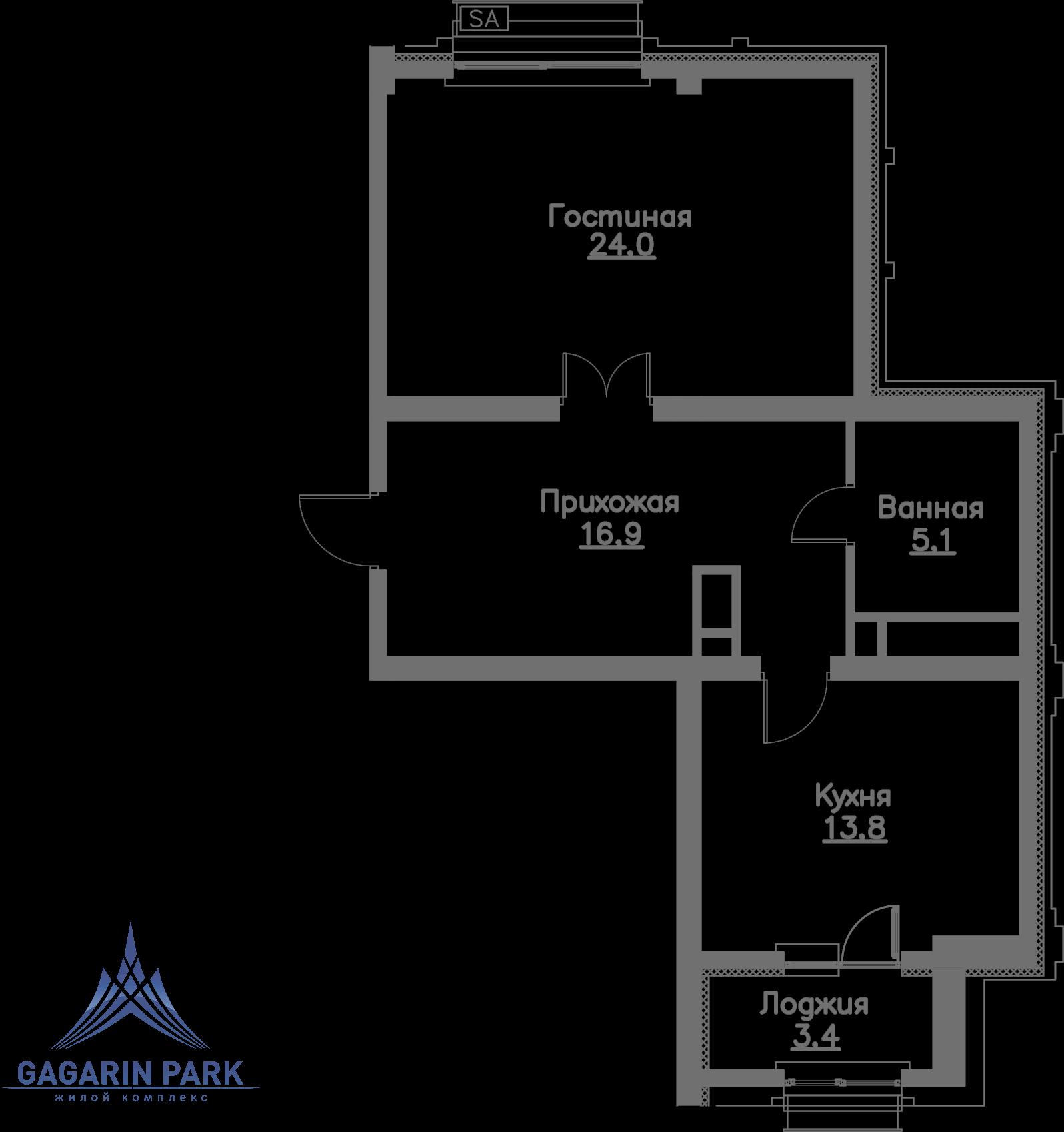 2 очередь, Квартира 184<br>&nbsp;