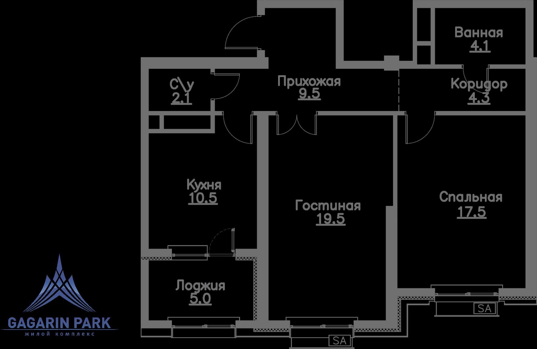 2 очередь, Квартира 65